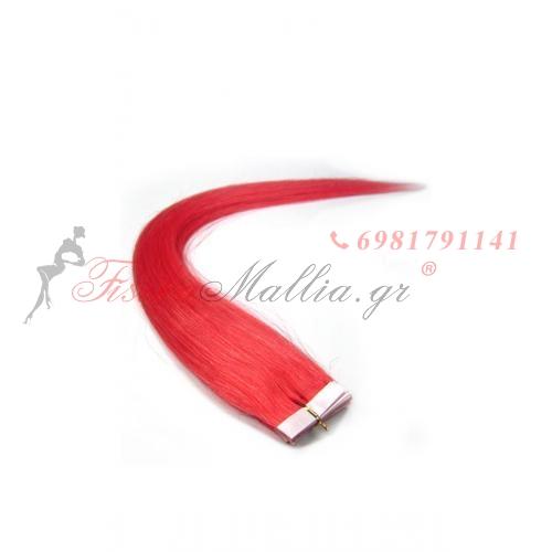 Χρώμα: ροζ. Στυλό αυτοκόλλητων ετικετώ 45  Μαλλιά σε αυτοκολλητά 45 εκ., 55 εκ., 65 εκ.