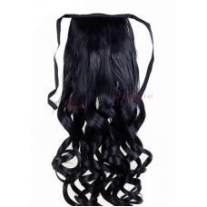 1. Τεχνητή ουρά - σγουρά μαλλιά