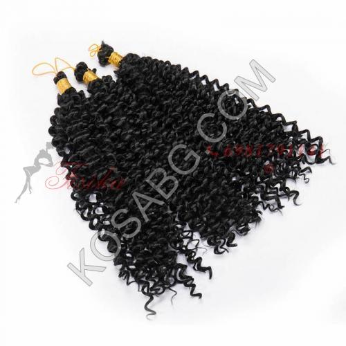 1 - Къдрави Афро плитки (туистъри)