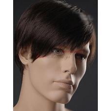 1. Мъжка перука от изкуствена коса