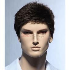 16. Мъжка перука от естествена коса