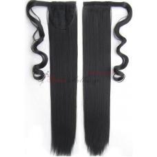 1b. Τεχνητή ουρά - ίσια μαλλιά