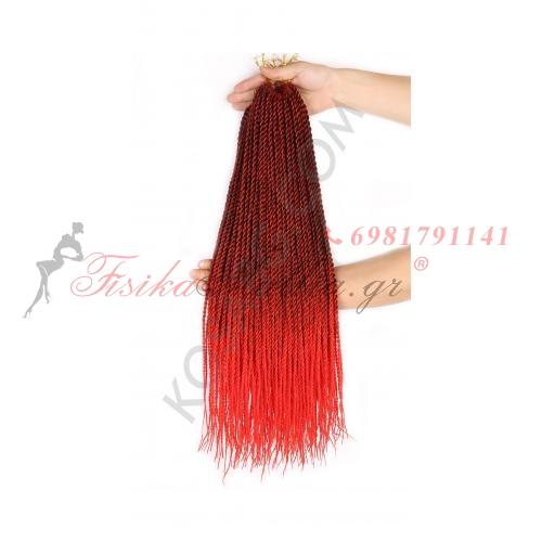 1b - Червено - Афро туистъри
