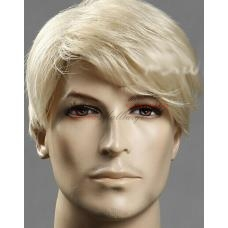 2. Мъжка перука от изкуствена коса
