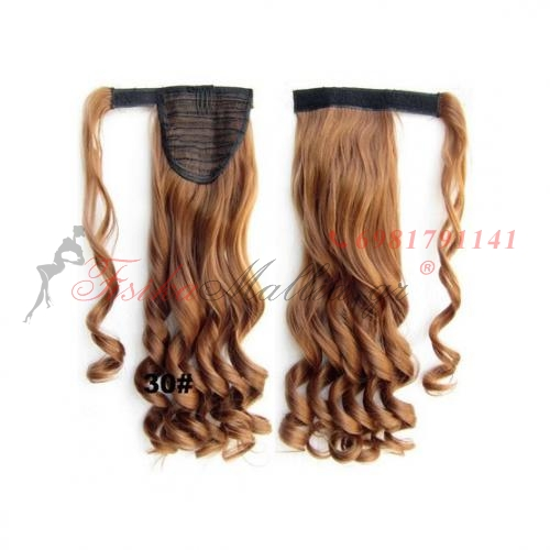 30. Τεχνητή ουρά - σγουρά μαλλιά Τεχνητή ουρά