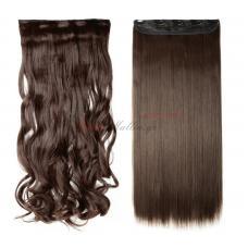 4 - Τεχνητά σγουρά ή ίσια μαλλιά