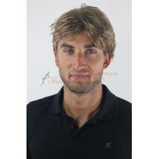 6. Мъжка перука от изкуствена коса