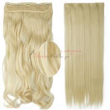 60 - Τεχνητά σγουρά ή ίσια μαλλιά