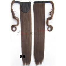 8. Τεχνητή ουρά - ίσια μαλλιά