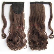 8. Τεχνητή ουρά - σγουρά μαλλιά