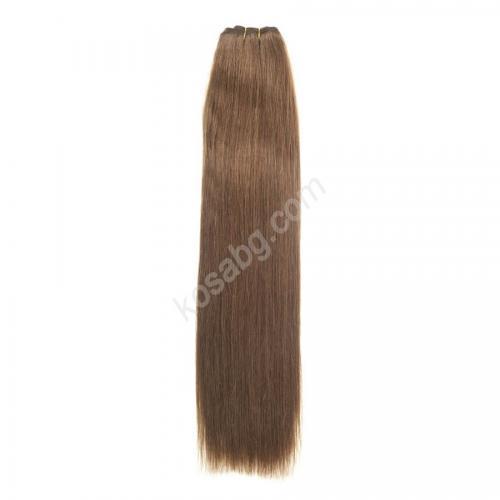 8. Естествена коса на сантиметър