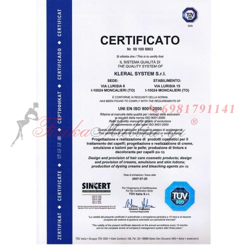 CERTIFICATE ISO 9001:2000