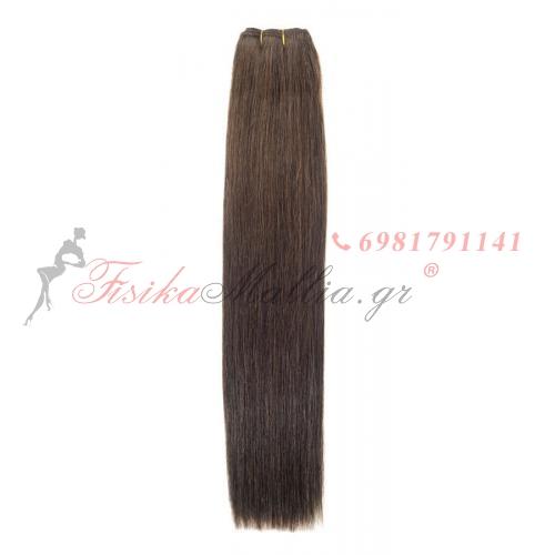N 4: Φυσικά μαλλιά 45, 50 - 55 cm. Φάρδος της τρέσας 80 cm. Προσφορές