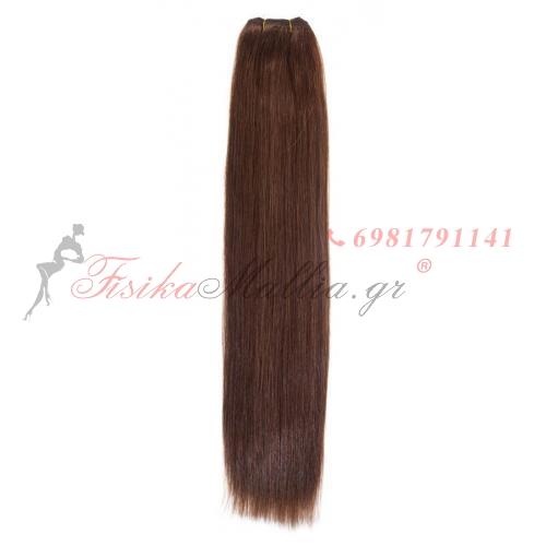 N 5: Φυσικά μαλλιά 45, 50 - 55 cm. Φάρδος της τρέσας 80 cm. Προσφορές