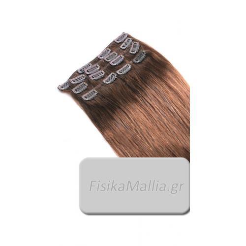 No5 - Τρέσα μαλλιών με κλιπς Τρέσα μαλλιών με κλιπς