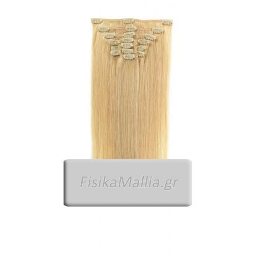 No613 - Τρέσα μαλλιών με κλιπς Τρέσα μαλλιών με κλιπς