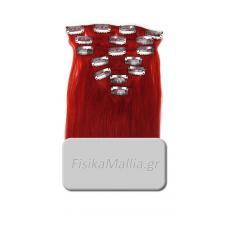 RED - Τρέσα μαλλιών με κλιπς