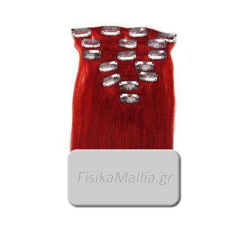 Red - Коса на клипс. Цена за наемане 40 лв.